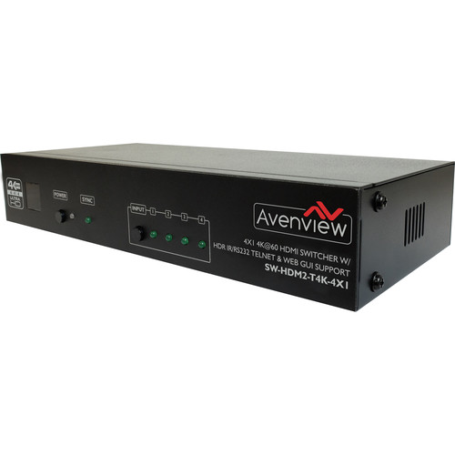 Avenview 4x1 HDMI 4K Matrix Switcher
