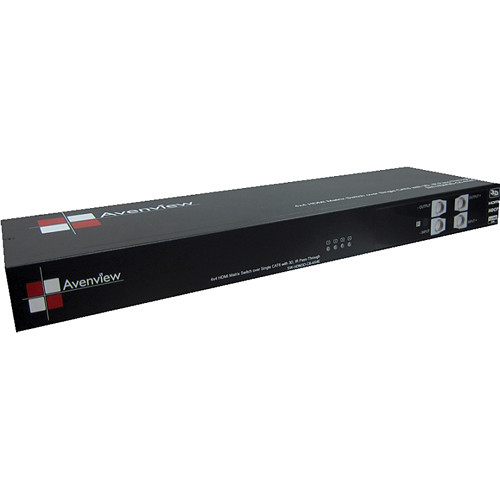 Avenview SW-HDM3D-C6-8X8E 8 X 8 HDMI 3D Matrix Switcher over Single CAT6
