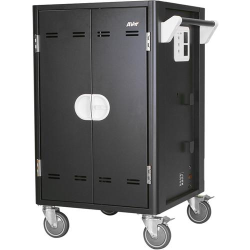 AVer AVerCharge C30i+ 30-Device Intelligent Charging Cart