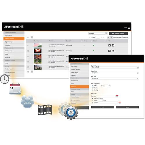AVerMedia BM110 VueSign CMS Server
