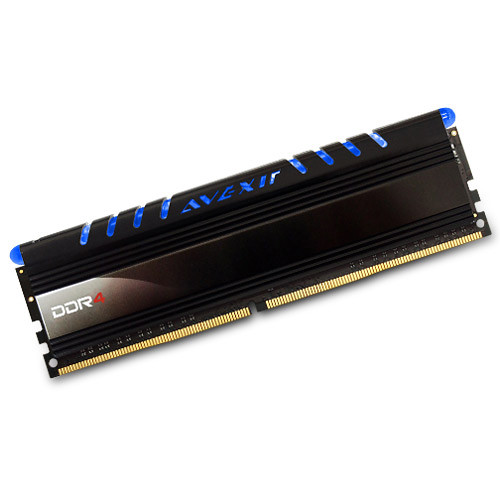 Avexir 4GB Core Series DDR4 2400 MHz UDIMM Memory Module (Blue LED)