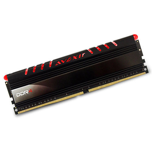 Avexir 8GB Core Series DDR4 2400 MHz UDIMM Memory Module (Red LED)
