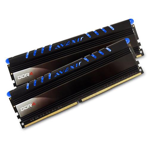 Avexir 16GB Core Series DDR4 2666 MHz UDIMM Memory Kit (2 x 8GB, Blue LED)