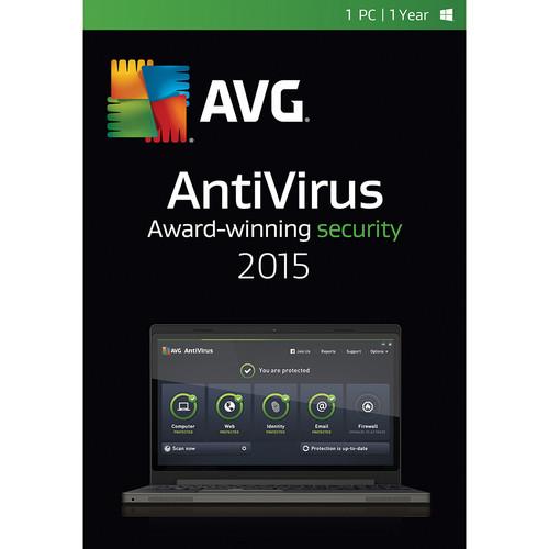 AVG AntiVirus 2015 (1-PC, 1-Year Subscription, Download)