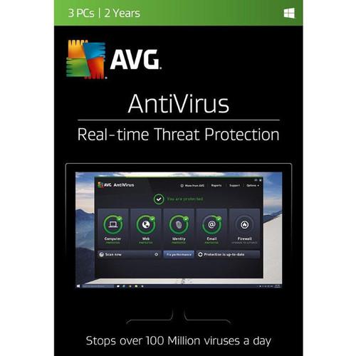 AVG AntiVirus 2017 (3 Users, 2-Year License, Boxed)