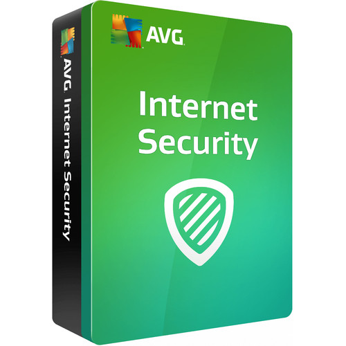 AVG Internet Security 2018 (Download, 3-PCs, 1-Year Subscription)