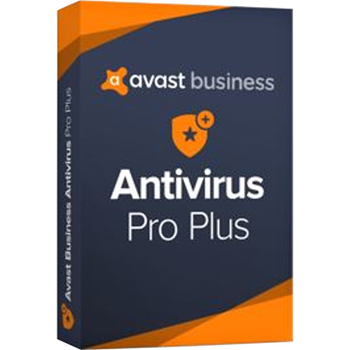 AVG Avast Business Antivirus Pro Plus 2019 (Download, 10 Users, 1-Year Subscription)