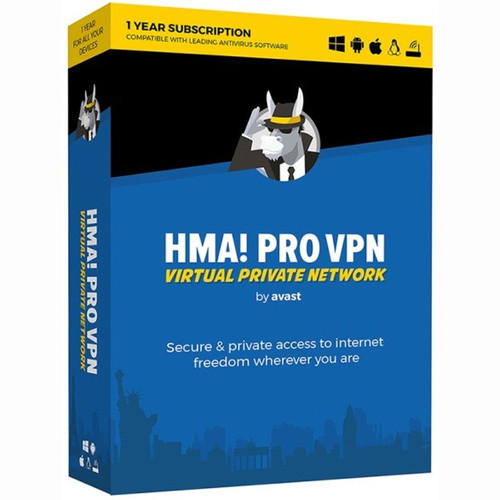 AVG Avast HMA Pro VPN 2018 (Download, 1-Year Subscription)