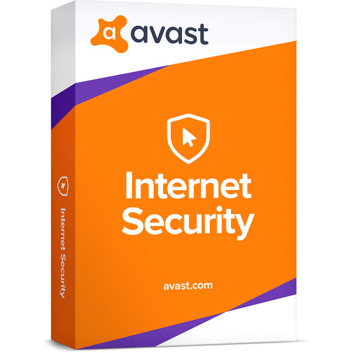 AVG Avast Internet Security 2018 (Download, 3-PCs, 1-Year Subscription)