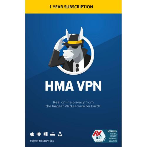HMA VPN - 1 Year (5 Devices)