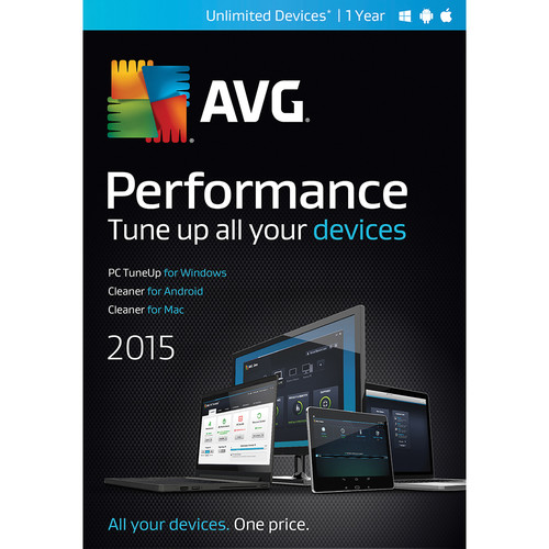 AVG AVG Performance 2015 (Unlimited Devices, 1-Year, Download)