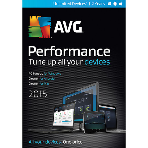 AVG AVG Performance 2015 (Unlimited Devices, 2-Year, Download)