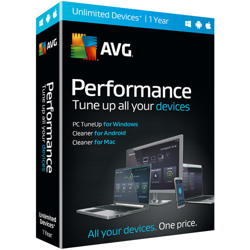 AVG Performance (1-Year Subscription, Unlimited Devices)
