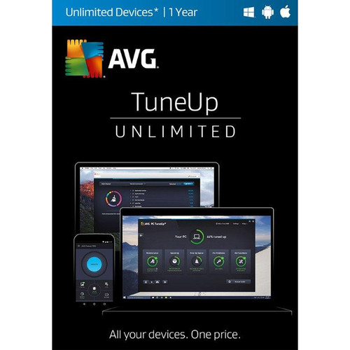AVG TuneUp Unlimited 2017 (1-Year, Download)