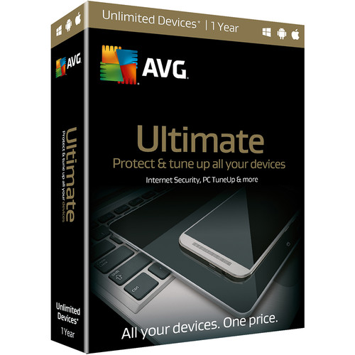 AVG Ultimate 2016 (Boxed, 1-Year)