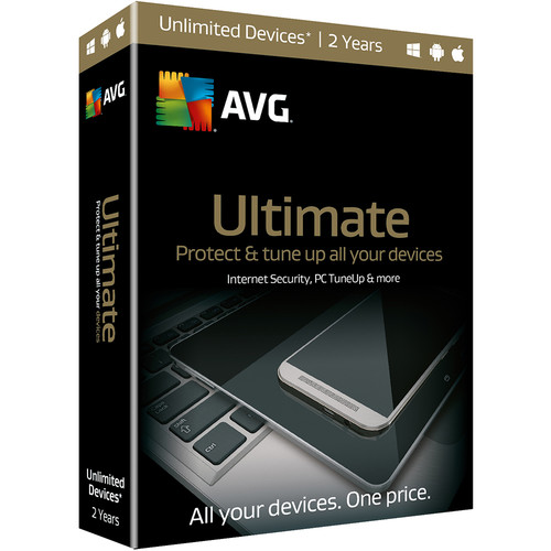 AVG Ultimate 2016 (Boxed, 2-Year)