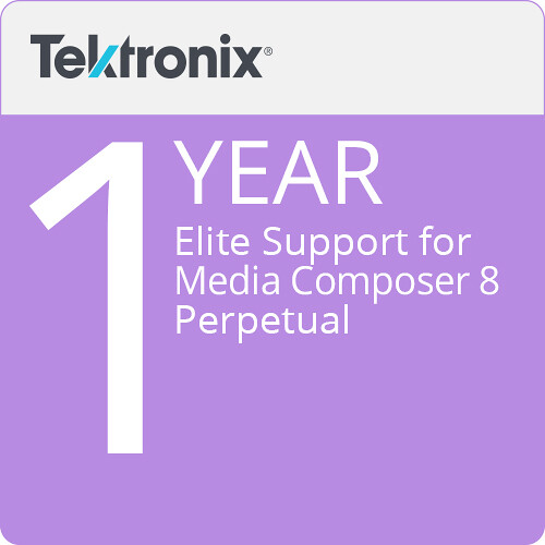 Avid Elite Support for Media Composer 8 Perpetual (1-Year)