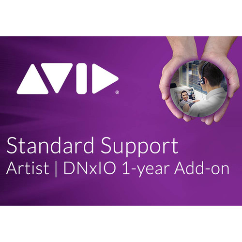 Avid Technologies 1-Year Add-On Option Standard Support Hardware Coverage for Artist DNxIO