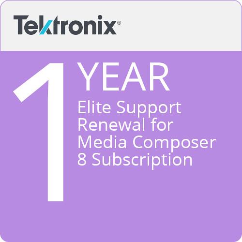 Avid Elite Support for Media Composer 8 Subscription (1-Year Renewal, Download)