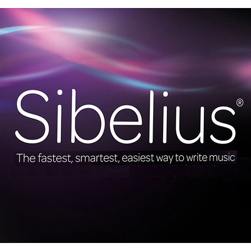 Avid Sibelius Music Notation Software 8.5 - Upgrade with 3-Year Support Plan (Perpetual Licence, Download)