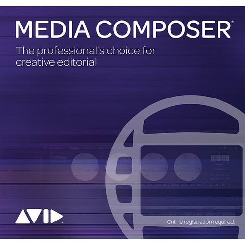 Avid Media Composer 2018 (1-Year Subscription Renewal, Download)