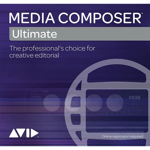 Avid Media Composer 2018 Ultimate (2-Year Subscription Renewal, Download)