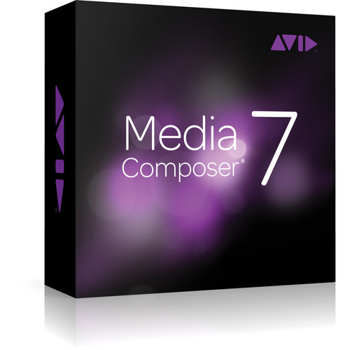 Avid Media Composer 7 with Interplay (Seat License, Academic)