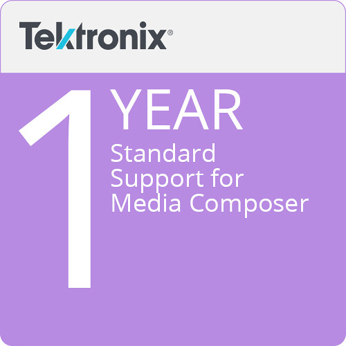 Avid Standard Support for Media Composer (1-Year)
