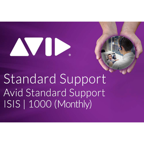 Avid Standard Software Support for ISIS 1000 20TB/40TB (Monthly)