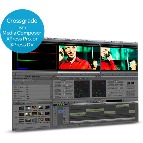Avid Technologies Media Composer to Symphony 6.5 Cross-Grade