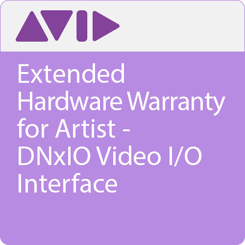 Avid Extended Hardware Warranty for Artist | DNxIO Video I/O Interface