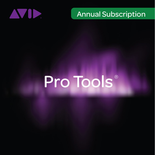 Avid Technologies Pro Tools Subscription - Audio and Music Creation Software (Academic Institution Annual License)