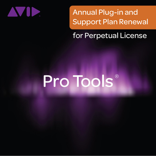Avid Technologies Pro Tools Annual Plug-Ins and Support Plan Renewal (Boxed)
