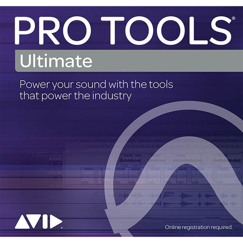 Avid Pro Tools | Ultimate Annual Subscription - Audio and Music Creation Software (Boxed)
