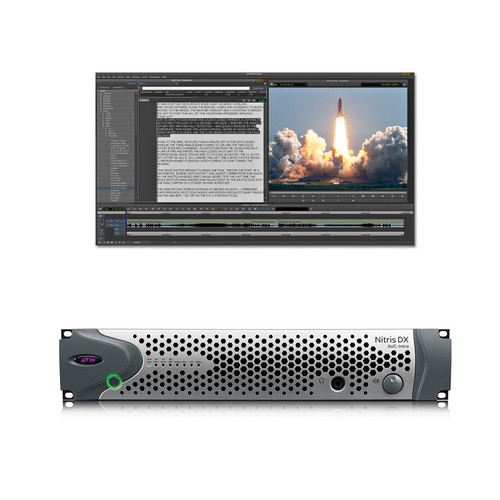Avid NewsCutter 11 Editing Software and Nitris DX with AVC Intra-Option