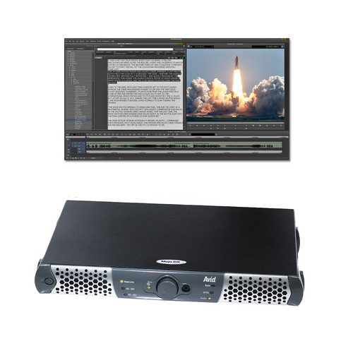 Avid Technologies NewsCutter 11 Editing Software with Mojo DX I/O Device