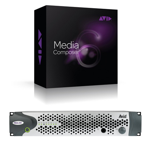Avid Technologies MC 7, Interplay w/Nitris DX (DNxHD) & Elite Support (Activation Card)