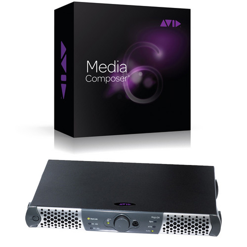Avid MC 7 Interplay Edition with Mojo DX & Elite Support (Activation Card)