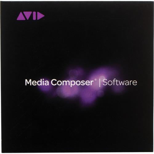 Avid Media Composer 8 (Standard, Perpetual, Activation Card)
