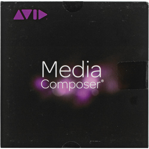 Avid Media Composer 8 (Standard, Perpetual, Activation Card & Dongle)