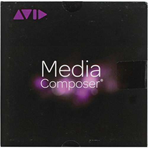 Avid Media Composer 8 (Teacher, Annual Subscription, Activation Card)