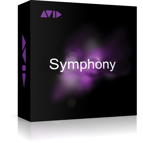Avid Symphony Option for Media Composer 8 (Educational, Activation Card)