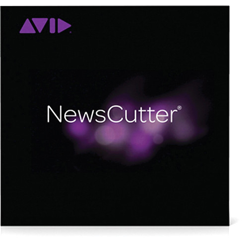 Avid Media Composer | NewsCutter Option (Educational, Floating License: 50 Pack)