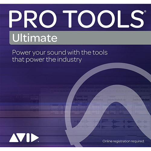 Avid Pro Tools | Ultimate 1-Year Subscription Multiseat License Renewal (Academic Institutions, Download)