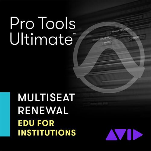Avid Pro Tools  Ultimate Multiseat License - Education Price - Renewal Subscription