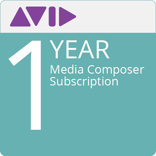 Avid Media Composer (1-Year Subscription, Download)