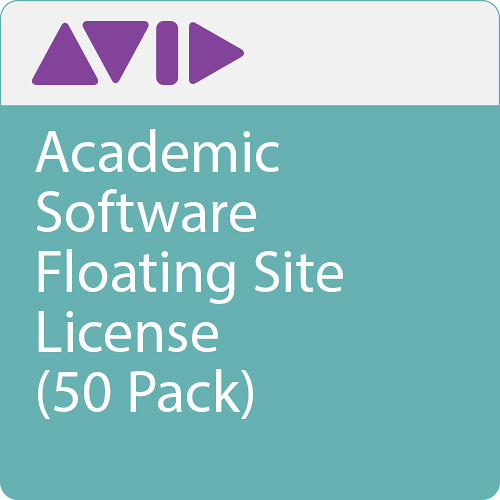 Avid Media Composer 50-Seat Floating License (Educational, 1-Year Subscription, Download)