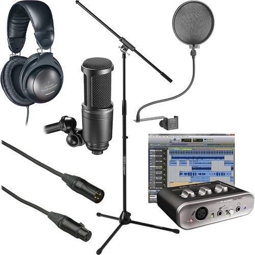 Avid Technologies Fast Track-Home Recording Starter Kit