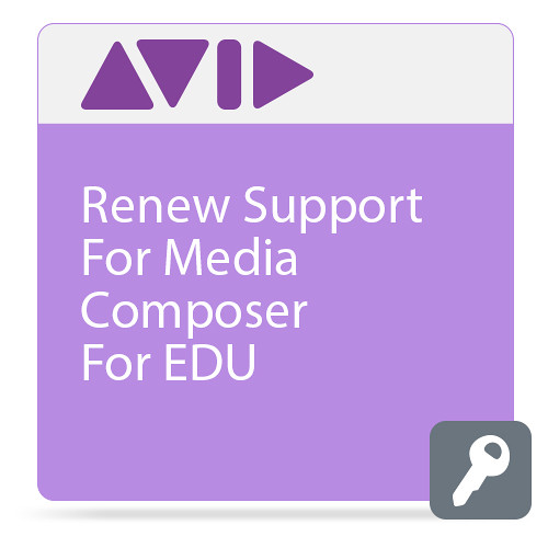 Avid Technologies Media Composer Upgrade with Annual Support Plan (Educational, Download)