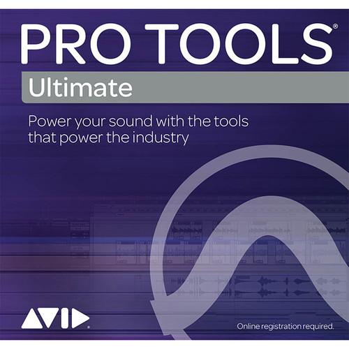 Avid Pro Tools | Ultimate Perpetual License - Audio Software (Download)